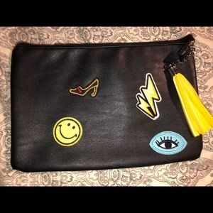 Handbags - Patches clutch